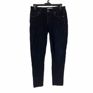 Paige Womens Stretch Mid Rise Super Skinny Jeans